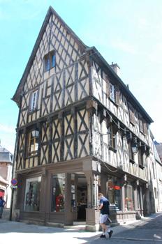 Bourges Maisons En Pans De Bois