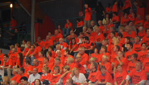 supporters de Bourges Basket
